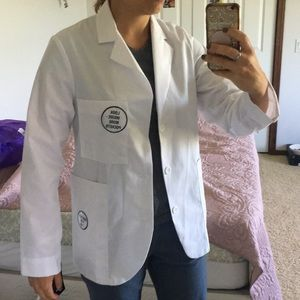 Jackets & Blazers - META white lab coat BRAND NEW